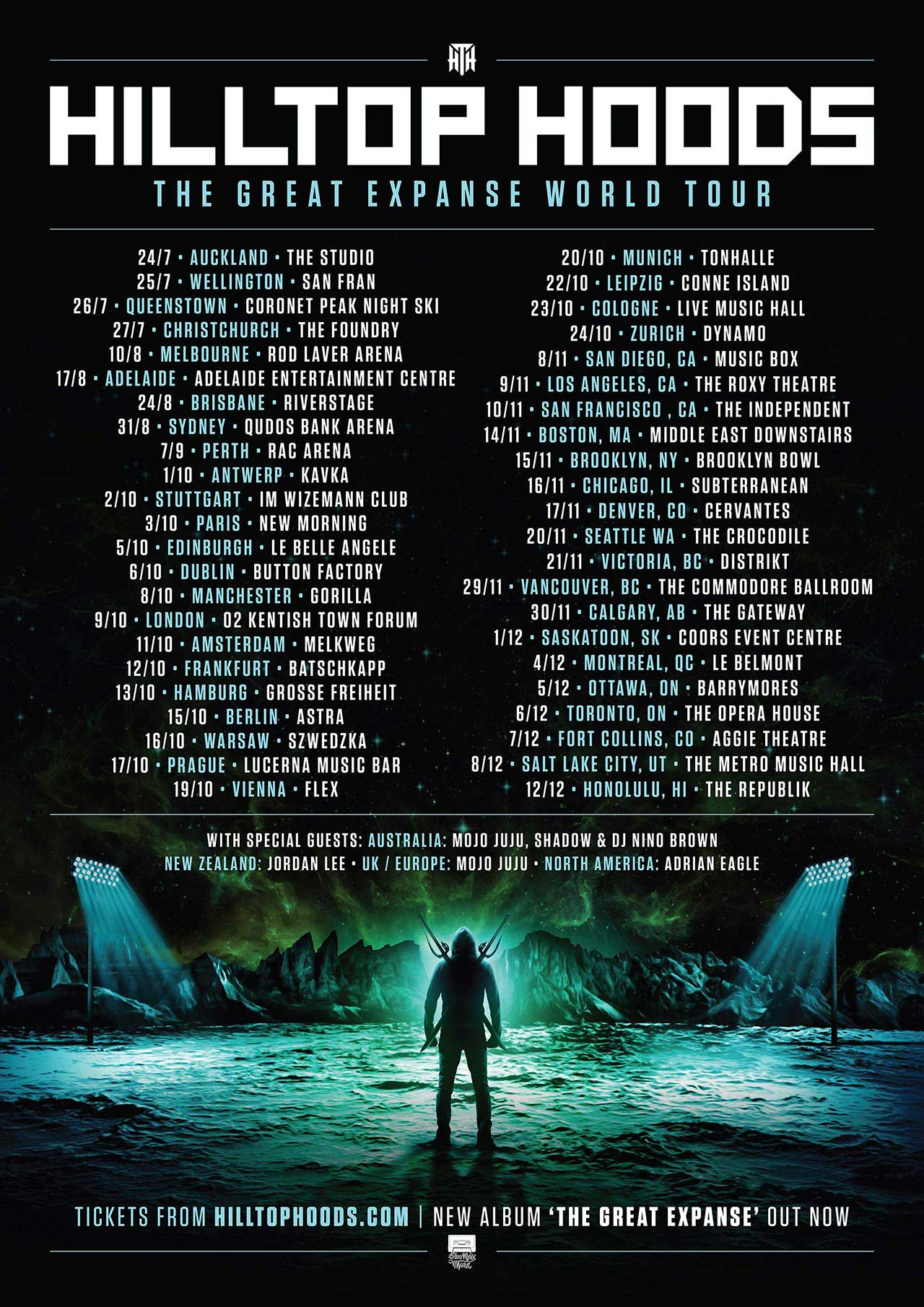 HILLTOP HOODS   The Great Expanse World Tour – Warsaw, POLAND